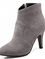 Women's Shoes Stiletto Heel Pointed Toe Ankle Boot with Zip More Color Available