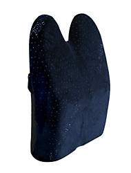 44*36 Velvet and Cotton Car Seat Back Navy