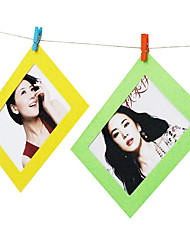 10pcs 3 inch paper frame random color