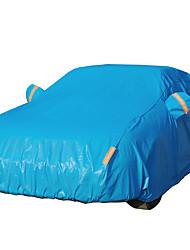 tampa do carro azul anti-roubo anticongelante protetor solar costura chama espessas fibras de algodão 3m