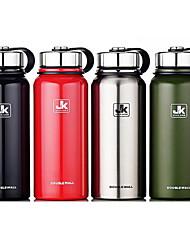 1100ml большой емкости из нержавеющей стали из нержавеющей стали бутылки вакуума термос чашка воды
