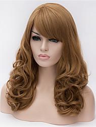 Europa und die Vereinigten Staaten große braune Perücke Flachs Volumen 22 Zoll langen lockigen Haaren