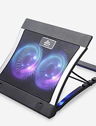 ai Duo b12 14-15,6 Zoll schwarz protable USB-Kühlventilatoren