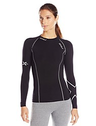 Carrera Tops Mujer Transpirable Fitness / Carreras / Deportes recreativos / Ciclismo/Bicicleta / Running Deportes Ropa deportiva Negro