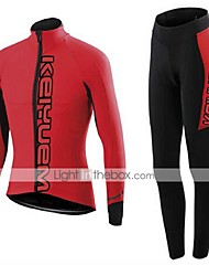 KEIYUEM®Others Spring/Summer/Autumn Long Sleeve Cycling Jersey+long Tights Ropa Ciclismo Cycling Clothing Suits #L34