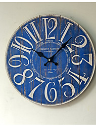 The New Blue Digital Wall Clock Ideas Do Old Wooden Wall Clock