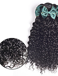 Brazilian Virgin Hair Water Wave 3 Bundles Brazilian Curly Virgin Hair Human Hair Weave Unprocessed