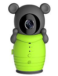интеллектуальная сетевая камера мониторинга бытовой беспроводной видимой домофонных ночного видения плюшевого мишку