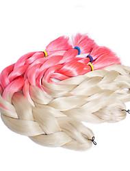 #27 Box Tranças Tranças torção Extensões de cabelo 20inch Kanikalon 3 costa 100G grama Tranças de cabelo