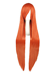 Perruques Cosplay-Orihime Inoue-Bleach-Orange-100