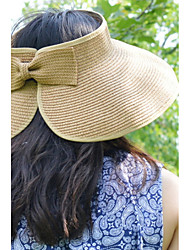 Women Summer Folding Straw Floppy Hat