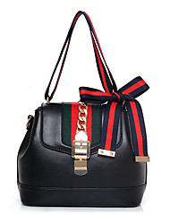 Women PU Formal / Casual / Office & Career / Shopping Shoulder Bag White / Red / Black