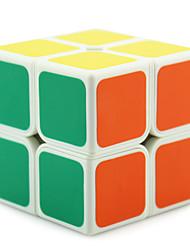 Shengshou® Cube velocidade lisa 2*2*2 Fluorescente / profissional Nível Cubos Mágicos Preta / Branco Plástico