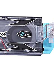 ventiladores portátiles de enfriamiento de plástico para el ordenador portátil
