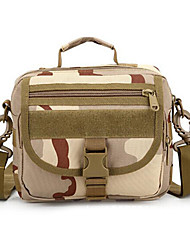 8 L Sac à bandoulière Camping & Randonnée Extérieur Multifonctionnel Camouflage Nylon