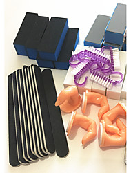 Nail Kit de herramienta de la manicura del arte 45