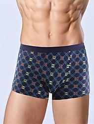 roupa interior de algodão de saúde 5 cores novas da forma dos homens