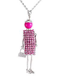 Collar Regalo / Fiesta / Diario Cristal Aleación De mujeres