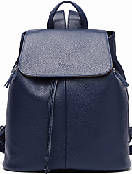 Stiya Hot Style Women Real Genuine Leather Backpack Fashion Bag