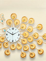 The Peacock European Diamond Wall Clock