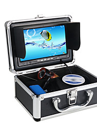 "30M 1000TVL Fish Finder Underwater Fishing 7"" Video Infared Camera Monitor Anti-Sunshine Shielf W/ Sunvisor"