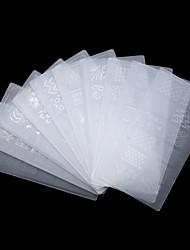 1pcs  Environmental Nail Plate Printing Tool