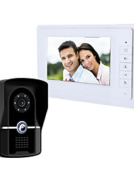 Yamaichi As of 7 Inch Waterproof Two-Way Visual Intercom Doorbell Remote Unlocking Night Vision