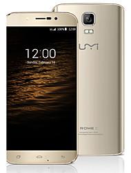 "UMI Rome X 5.5 "" Android 5.1 3G-Smartphone (Dual - SIM Quad Core 8 MP 1GB + 8 GB Schwarz / Gold)"