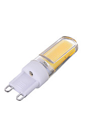 3W G9 Luces LED de Doble Pin T 1 COB 200-300 lm Blanco Cálido / Blanco Fresco Regulable / Decorativa AC 100-240 V 1 pieza