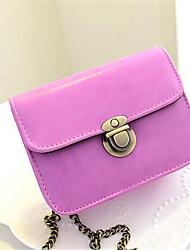 Women PU Formal Tote Pink / Purple / Yellow