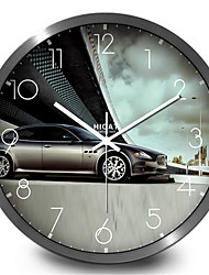 Luxury Cars Are Home Furnishing Mute Quartz Wall Clock