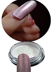 -Finger / Zehe-Nail Schmuck / Glitzer & Puder-Andere-1 bottle powder+1 eye shadow brushStück -2.6*2.6cmcm