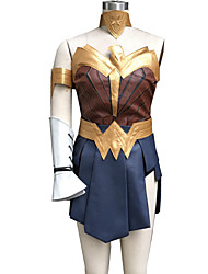 Cosplay Kostüme Superheld / Soldat/Krieger Film Cosplay Tintenblau PatchworkWeste / Rock / Armreif / Gürtel / Stirnband / Stulpen /