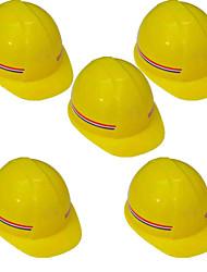 (A pack of 5) gelb, rot Helm pe899 pe
