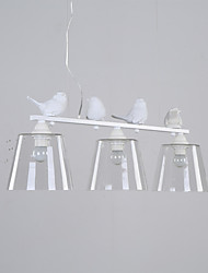 5 Pendant Light ,  Modern/Contemporary Painting Feature for Mini Style Metal Bedroom / Dining Room / Kitchen