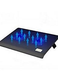 NSN L112 notebook radiador mute 2 usb base de fãs de resfriamento laptop
