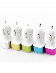 Automotive Supplies Car Charger Aluminum Side Three USB Interface 3.1A with Line Car Charge T02-1B\5144
