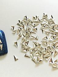 Стразы для ногтей0.2*0.35-100-Металл