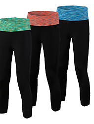 New Workout Elastic Sport Slim Legging Workout Yoga Pant Gym Training Pantalones Fitness Polyester Trousers For Women