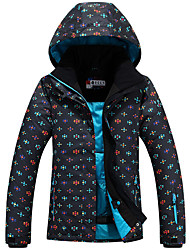 Ski Wear Ski/Snowboard Jackets Women's Winter Wear Polyester Winter Clothing Waterproof Thermal / Warm Windproof WearableCamping / Hiking
