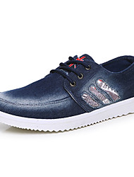 Masculino-Rasos-Conforto-Rasteiro-Azul-Jeans-Casual