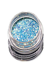 1 Bottle Nail Art Match Color Highlight Glitter Shining Colorful Powder Nail Makeup Beauty 10