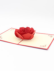 Paper Craft 3D Pop-up Greeting Card For Birthday Party Festival Valentine's day