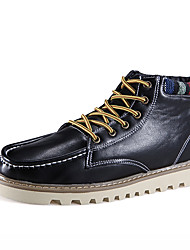 Men Genuine Leather Business Boots