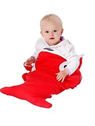 kigurumi Pyjamas Shark Collant/Combinaison Fête / Célébration Pyjamas Animale Halloween Rouge / Noir / Gris Couleur Pleine Coton Kigurumi