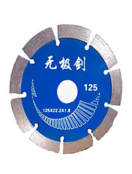 hoja de sierra de diamante 125x22.2x1.8mm