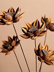Hi-Q 1Pc Decorative Flowers Lotus Flower Wedding Home Table Decoration Artificial Flowers