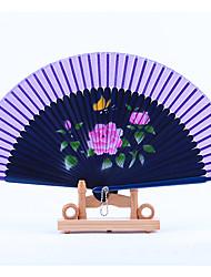 Eventail(Bleu)Thème de plage / Thème de jardin / Thème asiatique / Thème floral / Thème classique / Vintage Theme / rustique Theme- en