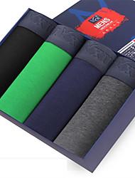 Maillot de corps Pour des hommes Coton / Carbone de Bambou