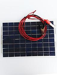 Zdm® 30w dc12v sortie 1.8a panneau solaire monocristallin de silicium paneldc12-18v)